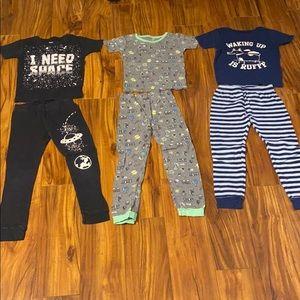 Carter's Pajamas Size 6 (3 Sets)